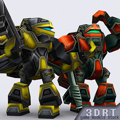 games warbots characters 3ds