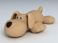 dog toy 3d model
