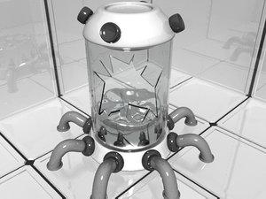 incubator lab 3d model