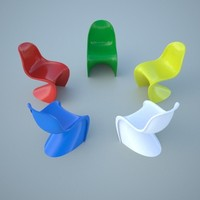 panton chair obj
