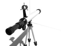 telescope 3d model
