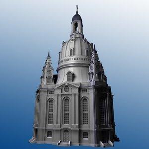 c4d frauenkirche