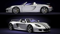 carrera gt car 3d max