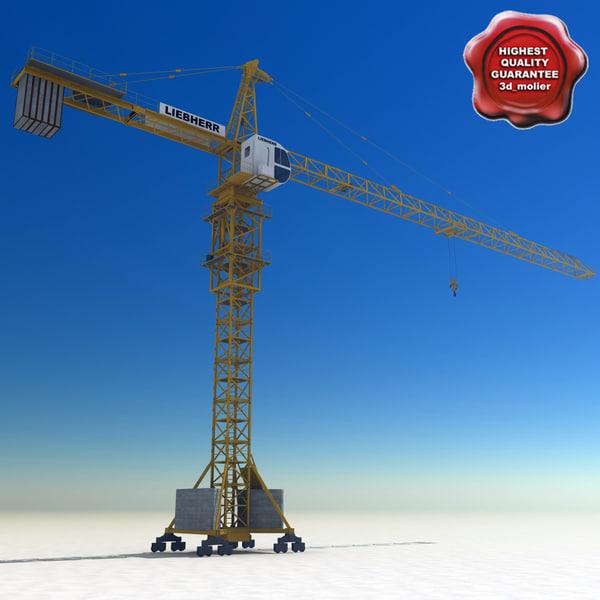 tower crane liebherr 3d lwo