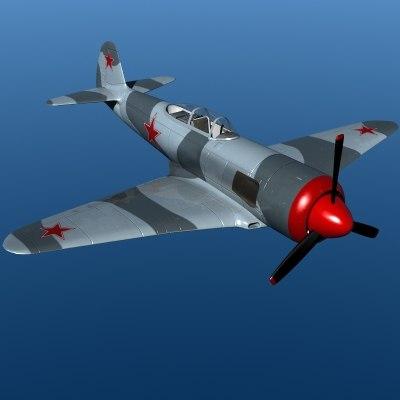 yak-3u fighter 3ds