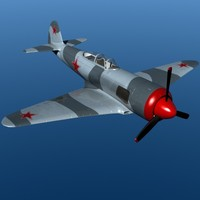 yak-3u fighter 3ds