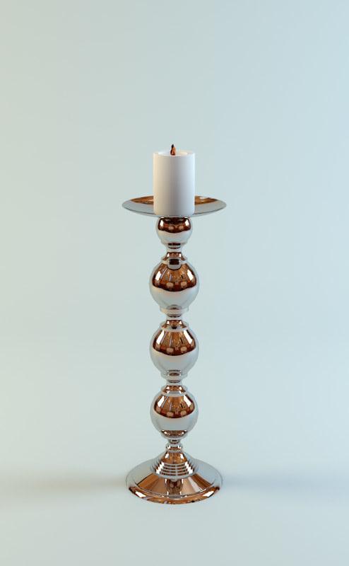 charrell eichholtz candle 3d max