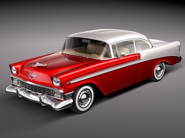 chevrolet bel air 1956 max