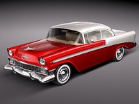 Chevrolet Bel Air 1956 hardtop coupe