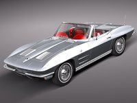 Chevrolet Corvette C2 Convertible