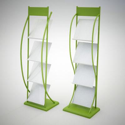 3d display rack