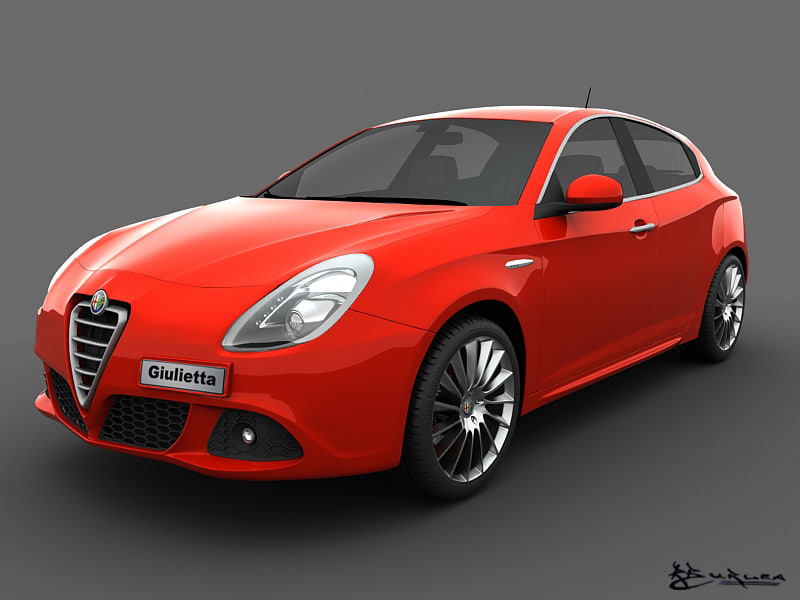 3d model giulietta 2011