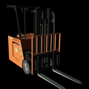 3d industrial vehicle zero pzhystr model