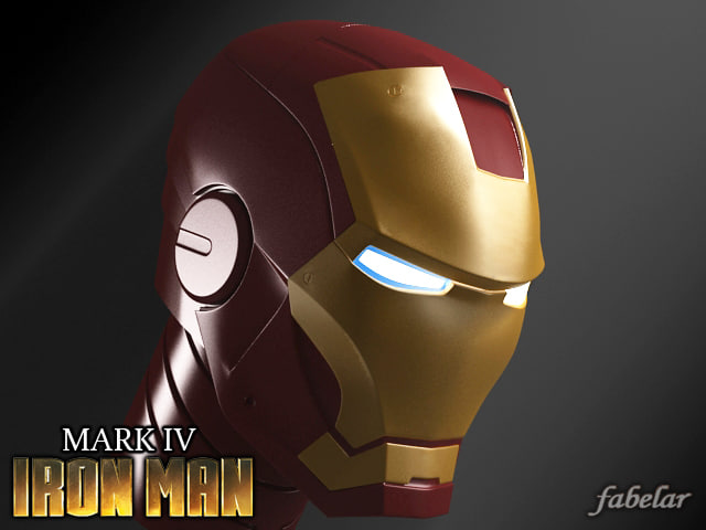 x ironman head