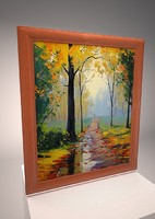 Picture Frames with impressionist paintings