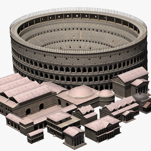 3ds max ancient roman