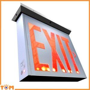 exit sign 3d obj