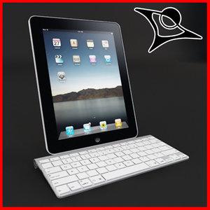 3ds max apple ipad docking keyboard