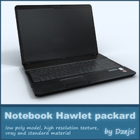 Notebook hawlett packard