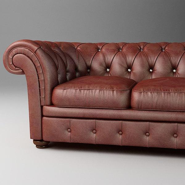 classic sofa relotti armando 3d max