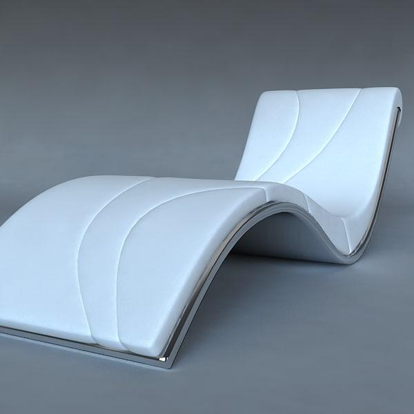 plank bed 3d model