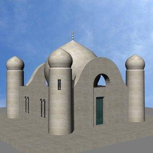 3d mausoleum