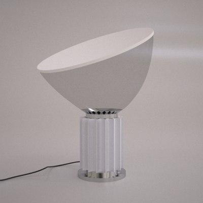 flos taccia light lamp 3d model