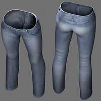 jeans eva character 3ds free