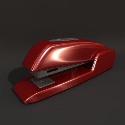 stapler machine 3d model