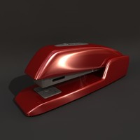 stapler machine 3d model