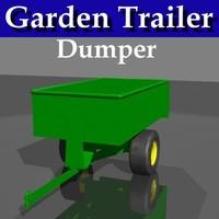 Garden Trailer - Dump