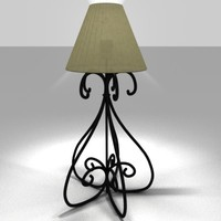 3d lamp stylish model