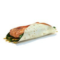 3ds max grilled chicken gowrap