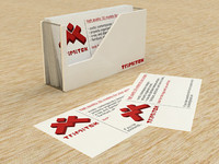 free max mode business card holder