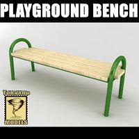maya playground bench