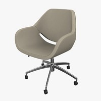 3d model chair artifort gap swivel
