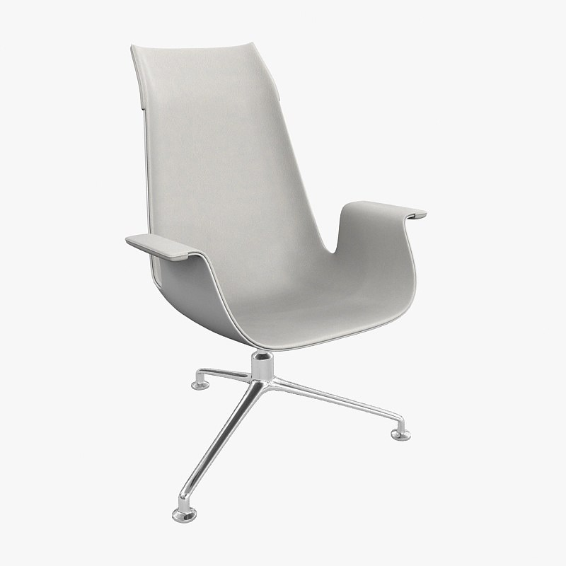 chair walter knoll fk 3d model