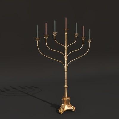 candleholder c4d