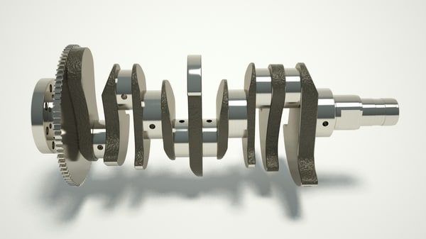 crankshaft engine 3d model