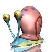 3d model gary snail