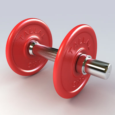 barbell bell 3ds