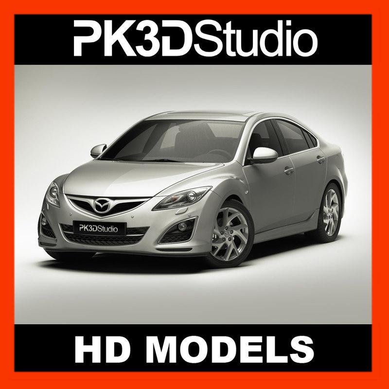 mazda 6 2011 3d model