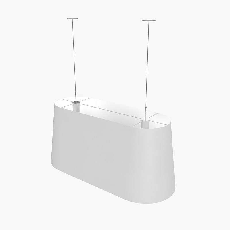 moooi oval light 3d model