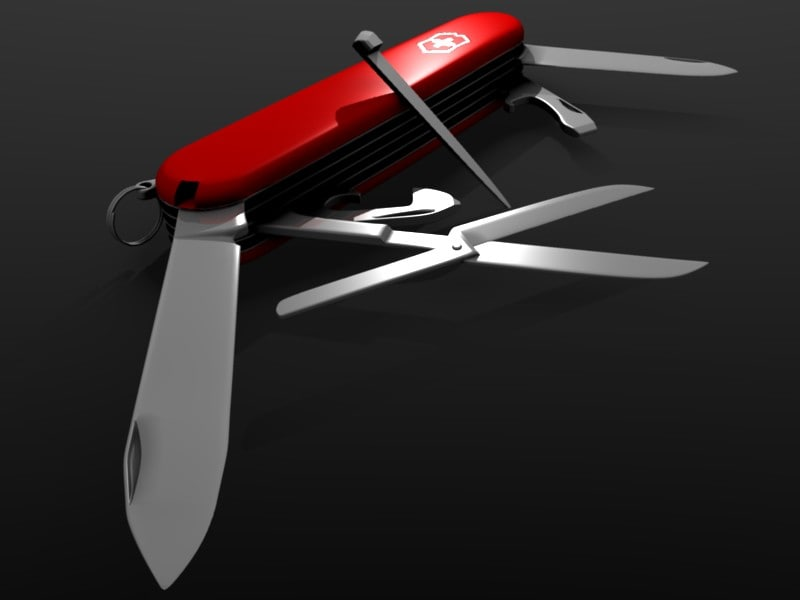 3ds swiss army knife blade