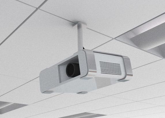 projector ceiling classroom 3d model