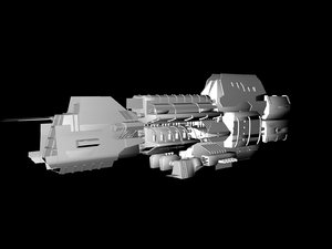 free battleship 3d model