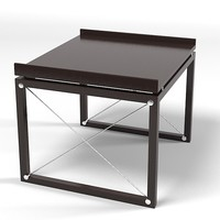 Tresserra paris side table modern coffee contemporary