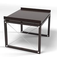 tresserra table modern 3d model
