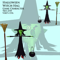 witch character games 3d x