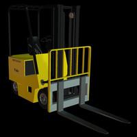 3d model industrial vehicle zero pzyale